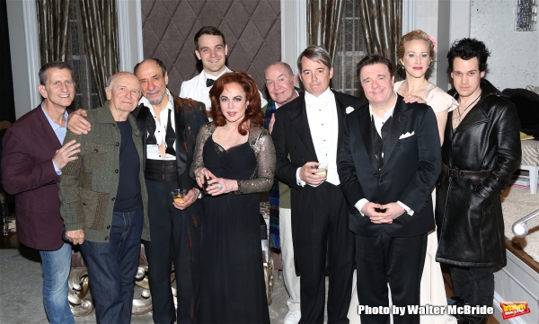 Tom Kirdahy, playwright Terrence McNally, F. Murray Abraham, Micah Stock, Stockard Channing, director Jack O''Brien, Matthew Broderick, Nathan Lane, Katie Finneran and T.R. Knight