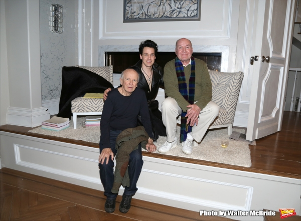 Playwright Terrence McNally, T.R. Knight and director Jack O''Brien