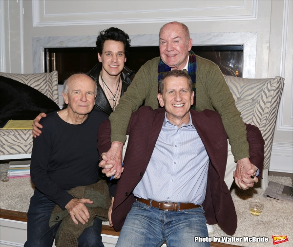 Playwright Terrence McNally, T.R. Knight, director Jack O''Brien and producer Tom Kirdahy