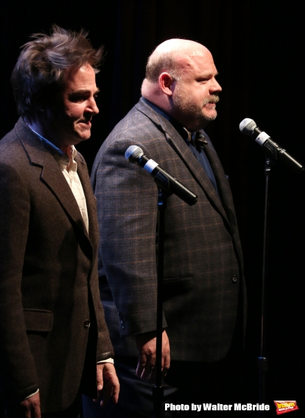 Roger Bart and Kevin Chamberlin