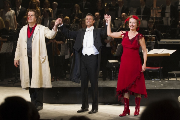 Photo Flash: First Look at ENO's SWEENEY TODD's Opening Night, with Bryn Terfel & Emma Thompson