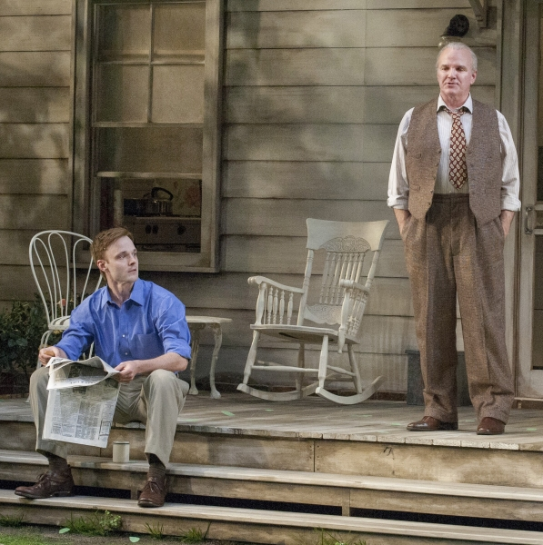 Jay Sullivan as Chris Keller and James Black as Joe Keller  Photo