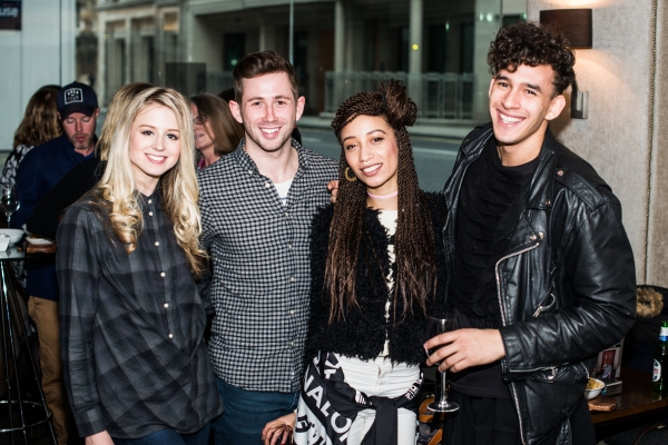 Carrie Willis, James Revell, Sophie Apollonia and Jordan Kennedy