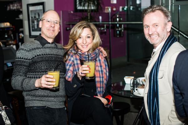 John Caird,Tracy-Ann Oberman and Julian Stoneman