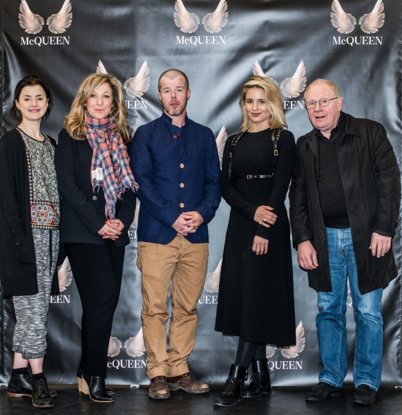 Laura Rees, Tracy-Ann Oberman, Stephen Wight, Dianna Agron and David Shaw-Parker