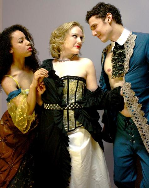 Emma Ladji, Sara Pavlak McGuire and Tim Larson Photo