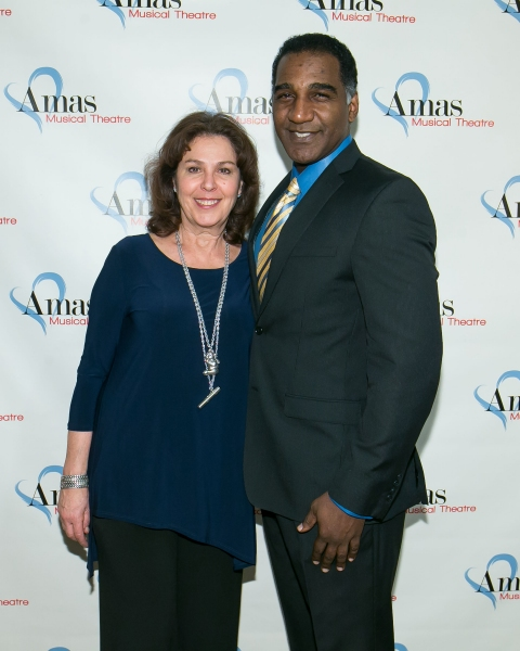 Norm Lewis and Donna Trinkoff