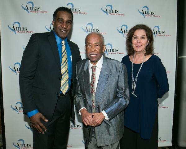 Norm Lewis, Danny Holgate, Donna Trinkoff Photo