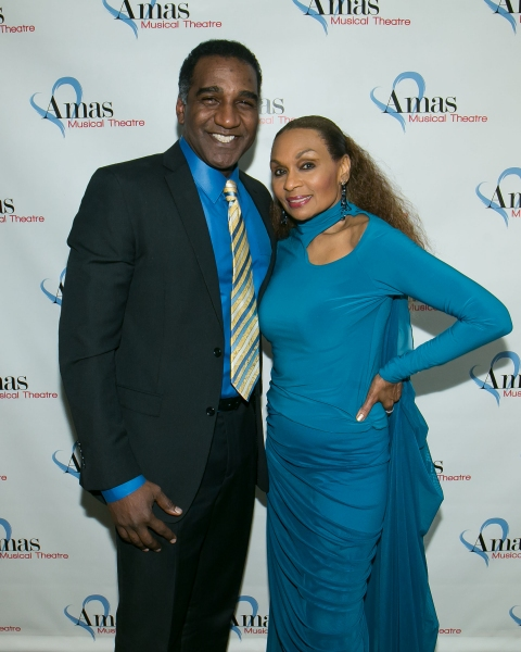 Norm Lewis and Vivian Reed