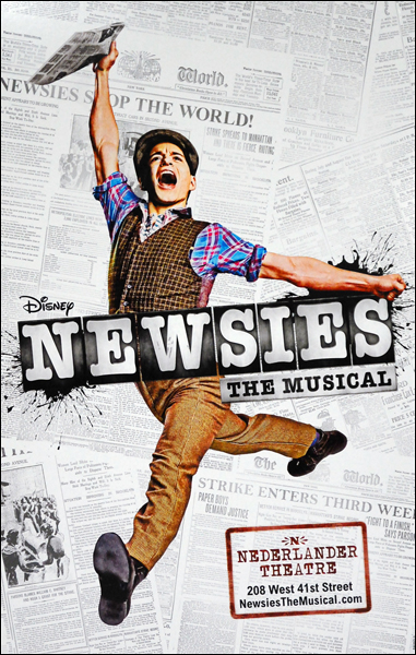 Win Tickets & Backstage Tour Of NEWSIES National Tour In New Charitybuzz Auction, Ends 8/13