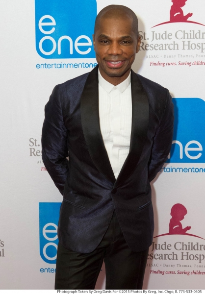 Kirk Franklin attends the eOne Music post-Stellar Awards Celebration. Photo