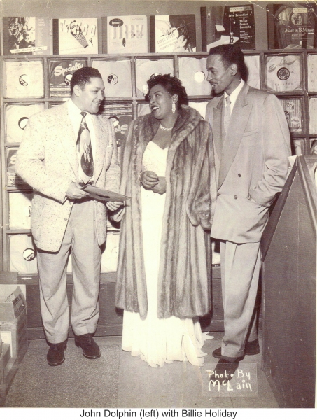 John Dolphin and Billie Holiday