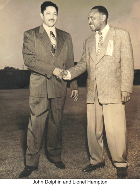 John Dolphina nd Lionel Hampton Photo