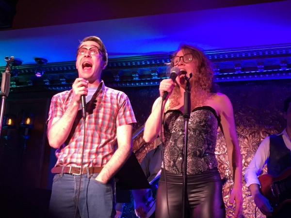 Photo Flash: Sean Matthew Whiteford's GIRLFRIEND FROM HELL in Concert at 54 Below