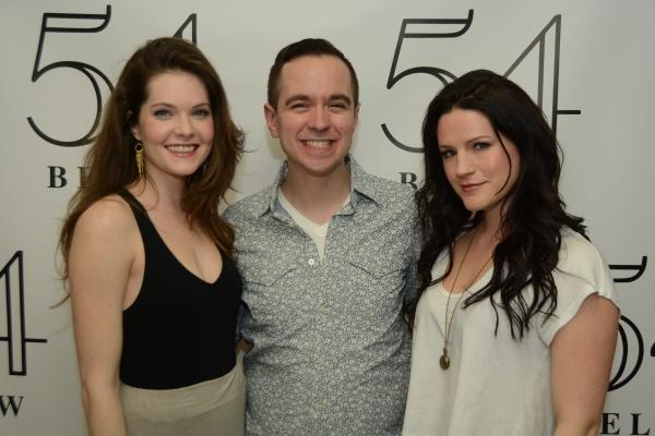 Meghann Fahy, Benjamin Rauhala, and Carrie Manolakos.