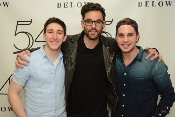 The riffers; Ben Fankhauser, Zak Resnick, and Ben Platt.
