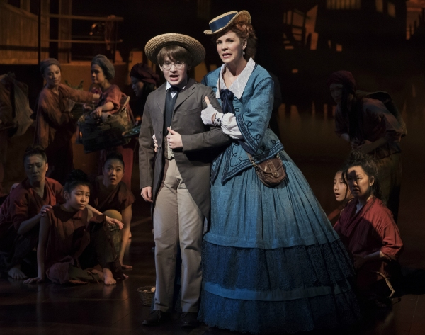 Jake Lucas, Kelli O''Hara and company