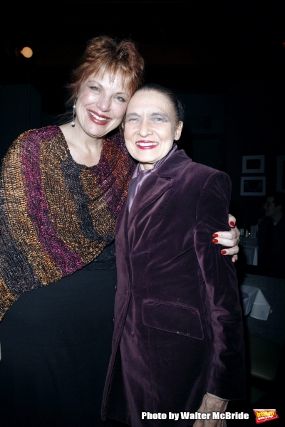 Devlin and Julie Wilson  at Jim Caruso''s Cast Party on October 30, 2006 in New York City.