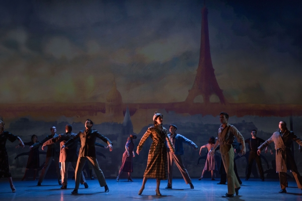 An American in Paris Production Photo - Cast of AN AMERICAN IN PARIS