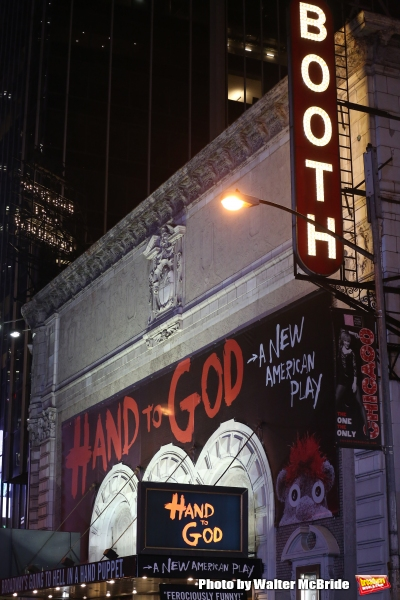 Photo Coverage: Steven Boyer & the Cast of Broadway's HAND TO GOD Take Opening Night Bows!