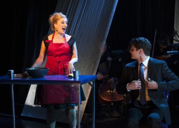 Donna Migliaccio and Austin Colby
