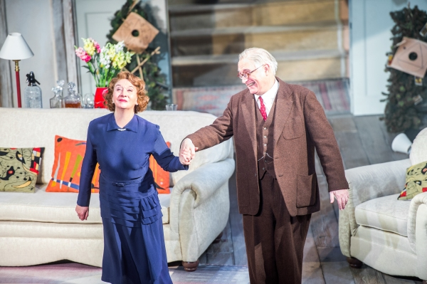 Sandra Shipley, who played Mrs. Bradman, and Simon Jones, who played Dr. Bradman