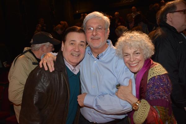 Lee Roy Reams, Joshua Ellis and Marilyn Sokol