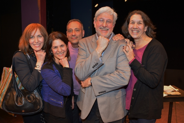 Jackie Green, David LeShay, Cindy Valk, Joshua Ellis and Marcia Goldberg Photo