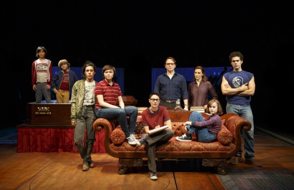 Cast of FUN HOME. Photo Credit: Joan Marcus