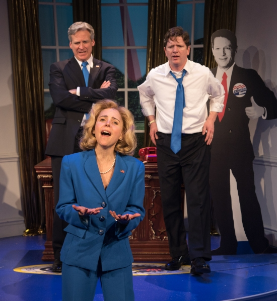 Kerry Butler) and her two loves WJ  (Tom Galantich and Billy (Duke Lafoon