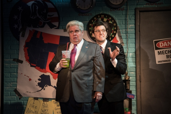 John Treacy Egan as Newt Gingrich and Kevin Zak as Kenneth Starr