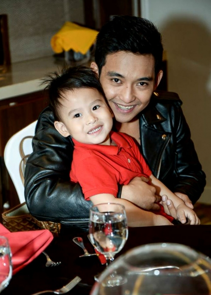 Patrick Adrian Libao and son