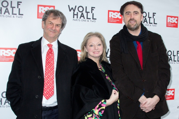 Mike Poulton, Dame Hilary Mantel, Jeremy Herrin