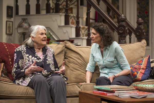 Ensemble members Lois Smith (Patricia) and Molly Regan (Carol)