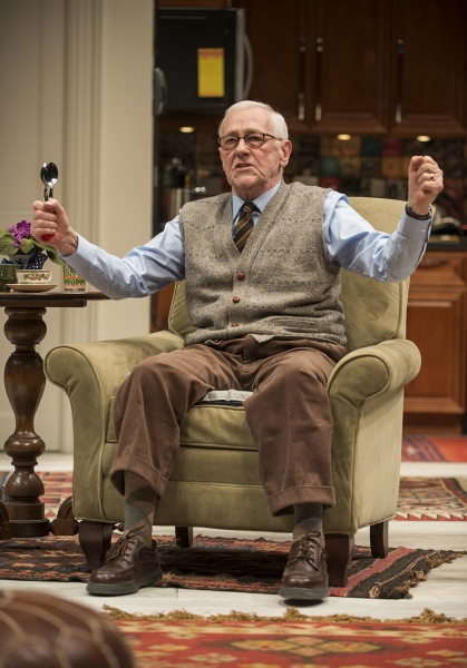 Ensemble member John Mahoney (Brian)