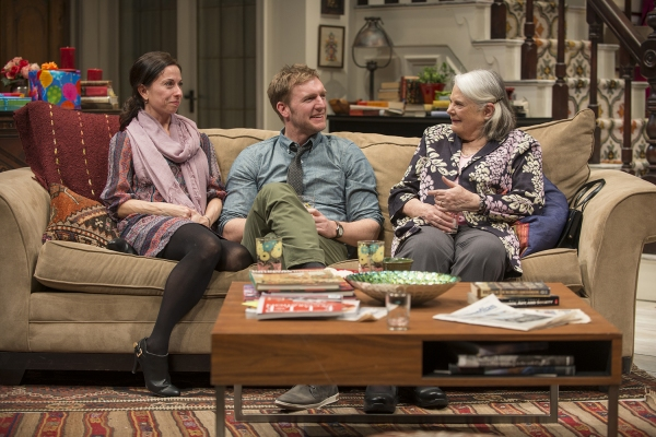 Audrey Francis (Claire), Cliff Chamberlain (Mark) and ensemble member Lois Smith (Patricia)