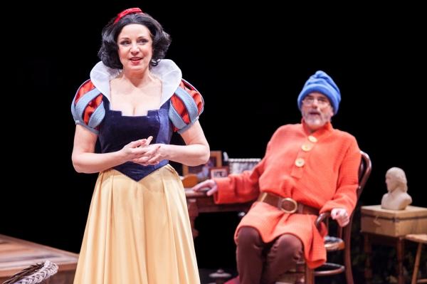 Grace Gonglewski as Masha and Eric Hissom as Vanya