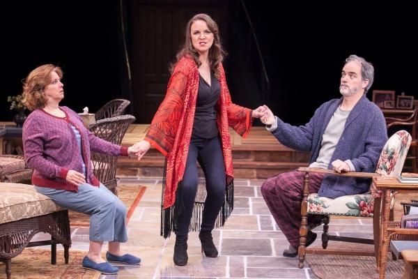 Sherri L. Edelen as Sonia, Grace Gonglewski as Masha and Eric Hissom as Vanya