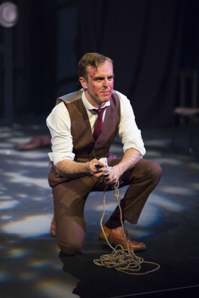 Photo Flash: Jo Parsons and Ben Woods in THRILL ME: THE LEOPOLD & LOEB STORY, Back in London Tonight