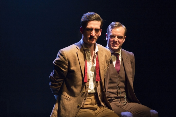 Ben Woods (left) as Richard Loeb Jo Parsons (right) as Nathan Leopold