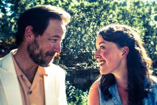 David Lowe as Emile de Becque and Ali Thibodeau as Nellie Forbush