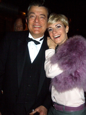 Adrienne Haan with Vince Giordano