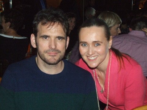 Matt Dillon and Olga Papkovitch