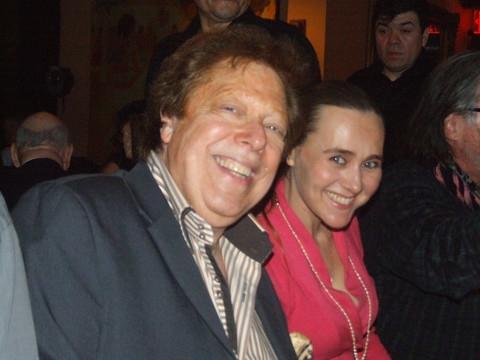 Robert R. Blume with Olga Papkovitch Photo