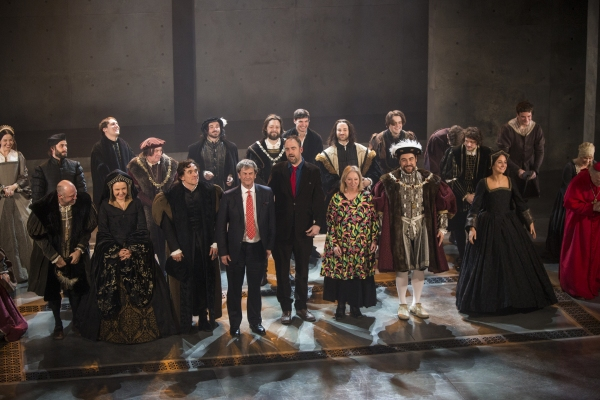 Photo Coverage: WOLF HALL Company Takes Opening Night Bows!