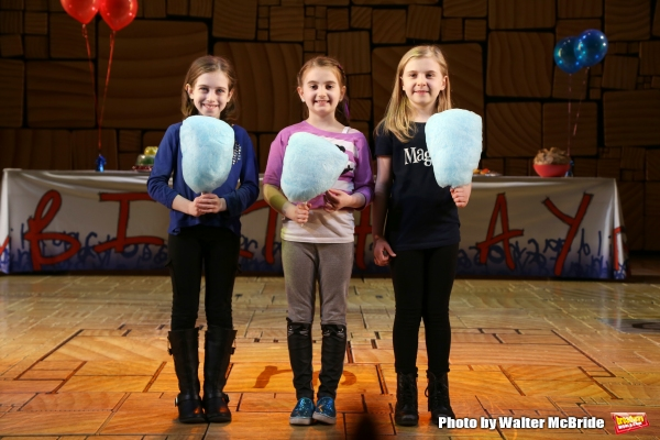 Photo Coverage: MATILDA Cast Celebrates Two Naughty Years on Broadway!