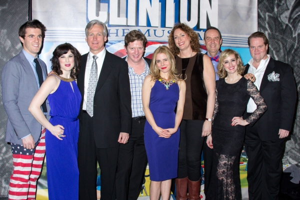 Photo Coverage: The Clintons are Back in the White House- Inside Opening Night of CLINTON THE MUSICAL!