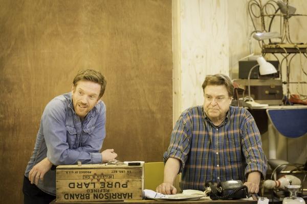 Photo Flash: Damian Lewis, John Goodman & Tom Sturridge in Rehearsal for West End's AMERICAN BUFFALO