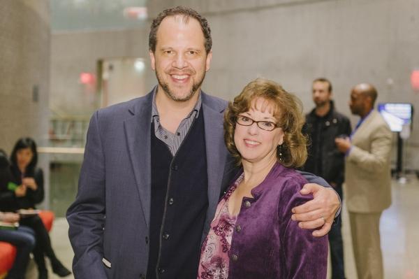 Director Aaron Posner and cast member Sherri L. Edelen