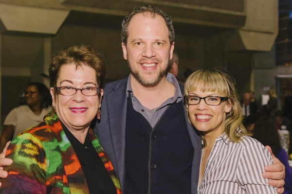 Artistic Director Molly Smith, director Aaron Posner and his wife, Erin Weaver